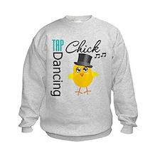 Tap Dancing Chick Sweatshirt