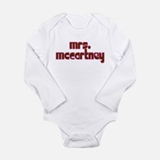 Mrs. McCartney Long Sleeve Infant Bodysuit