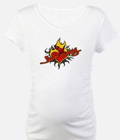 Johnny Heart Flame Tattoo Shirt