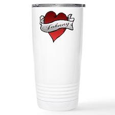 Johnny Tattoo Heart Travel Mug
