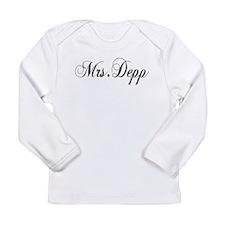 Mrs. Depp Long Sleeve Infant T-Shirt