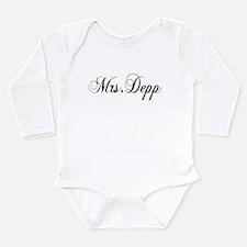 Mrs. Depp Long Sleeve Infant Bodysuit