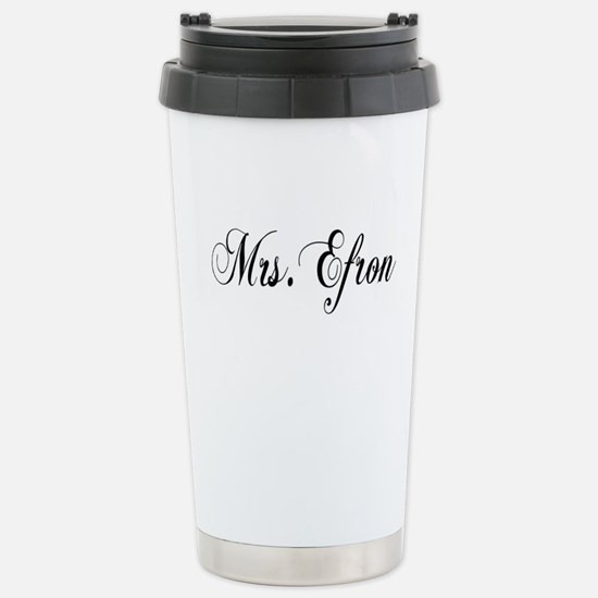 Mrs. Efron Stainless Steel Travel Mug