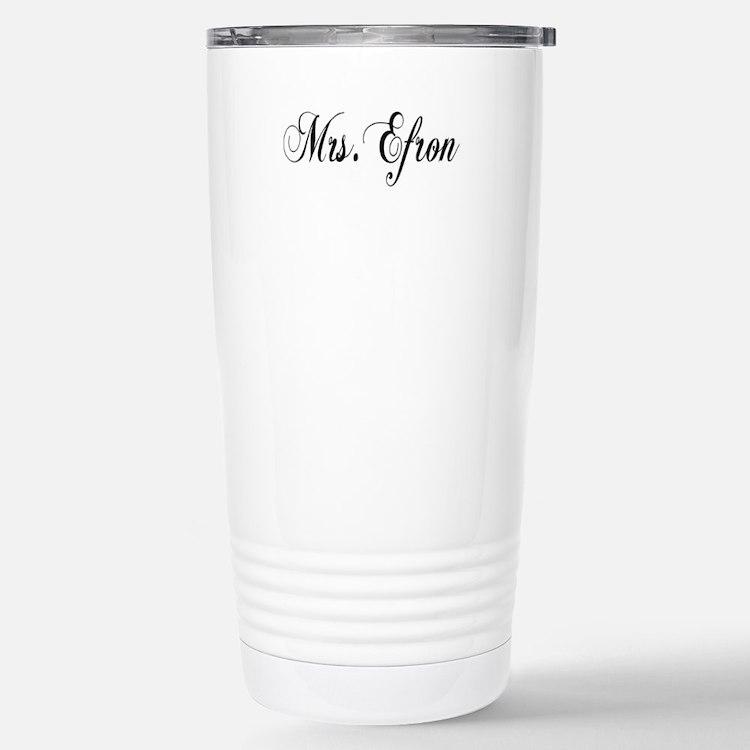 Mrs. Efron Stainless Steel Travel Mug
