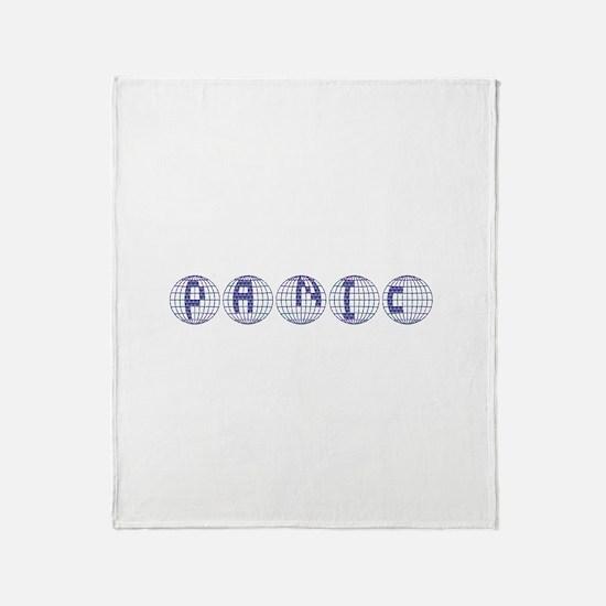 Panic Throw Blanket