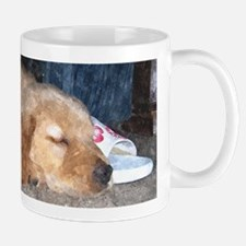 Puppy Sleeping Mug