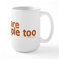 Gingers are People too Mug