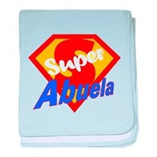 Super Abuela baby blanket