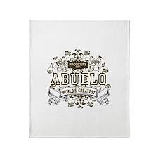 Property Of Abuelo Throw Blanket