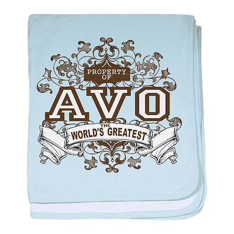 Property Of Avo baby blanket