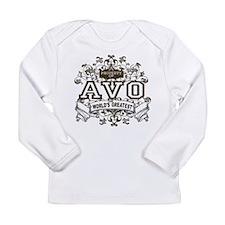 Property Of Avo Long Sleeve Infant T-Shirt