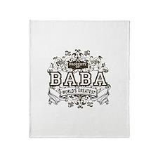 Property Of Baba Throw Blanket