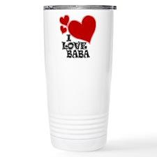 I Love Baba Travel Mug