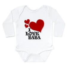 I Love Baba Onesie Romper Suit