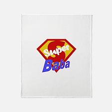 Super Baba Throw Blanket