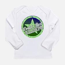 Worlds Best Gramps Long Sleeve Infant T-Shirt