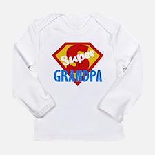 Super Grandpa Long Sleeve Infant T-Shirt