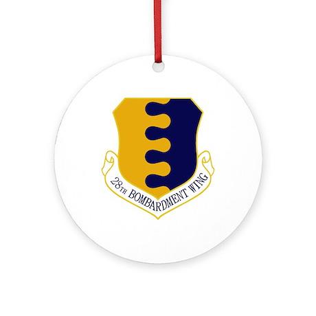 28th Bomb WIng Ornament (Round)