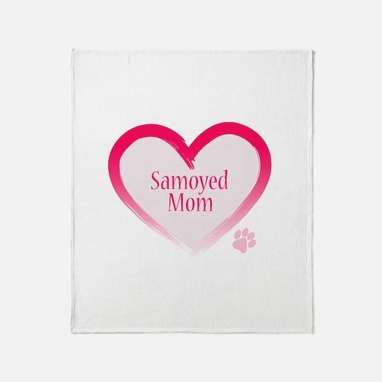 Funny Sammy Throw Blanket