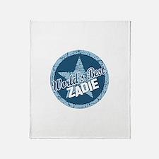 World's Best Zadie Throw Blanket