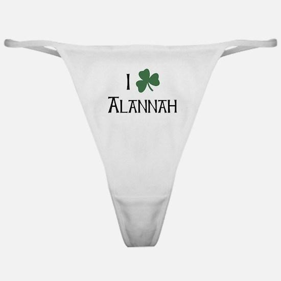Shamrock Alannah Classic Thong