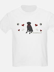 lab - black T-Shirt