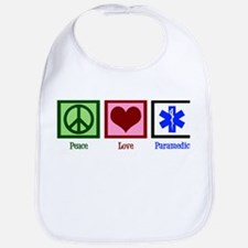Peace Love Paramedic Bib
