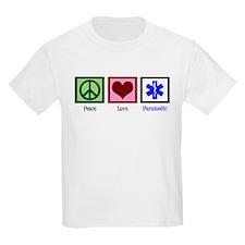 Peace Love Paramedic T-Shirt