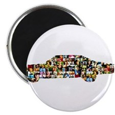 """Cute Television 2.25"""" Magnet (100 pack)"""