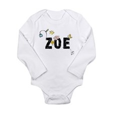Zoe Floral Baby Suit
