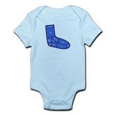 Sock Anatomy Infant Bodysuit