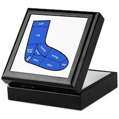 Sock Anatomy Keepsake Box