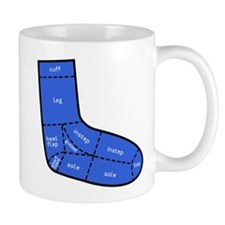 Sock Anatomy Mug
