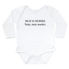 Meat Is Murder. Long Sleeve Infant Bodysuit