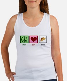 Peace Love Tacos Women's Tank Top