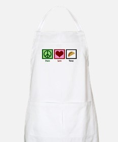 Peace Love Tacos Apron