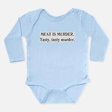 Murder Long Sleeve Infant Bodysuit