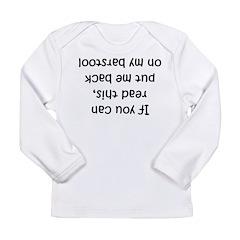 barstool Long Sleeve Infant T-Shirt