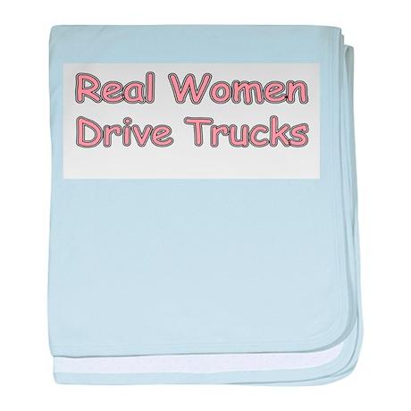 Trucks baby blanket