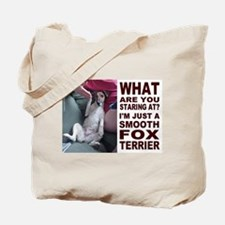 Just a Smooth Fox Terrier Tote Bag