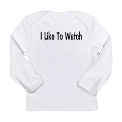 Watch Long Sleeve Infant T-Shirt