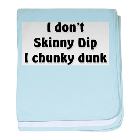 Chunky Dunk baby blanket