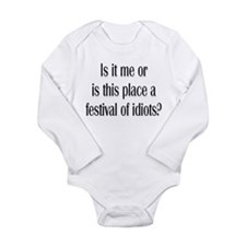 Festival Of Idiots? Baby Suit