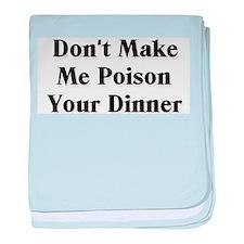 Poison baby blanket