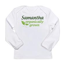 Organic Samantha Long Sleeve Infant T-Shirt