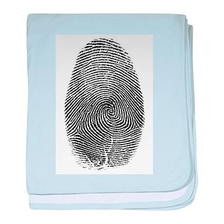 Fingerprint baby blanket