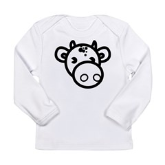 Cow Long Sleeve Infant T-Shirt