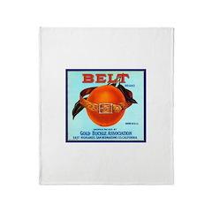 Belt Throw Blanket