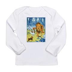 Cowardly Lion Long Sleeve Infant T-Shirt