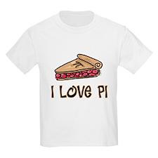 I Love PI Kids T-Shirt